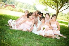 hehe funny bridesmaids pictures with the bride- Images Photography
