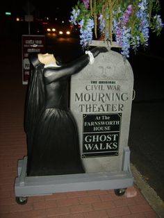Gettysburg, PA  Farnsworth Hotel - scary Ghost Walk Haunted Hotel, Haunted Places, Ghost Walk, Farnsworth House, Ghost Hunting, Gettysburg, Vacation Destinations, Paranormal, Pennsylvania
