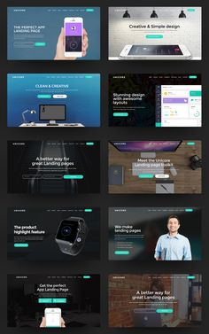 Unicore 20 HTML Bootstrap Landing Page Templates - Download theme here : http://themeforest.net/item/unicore-20-html-bootstrap-landing-page-templates/15917131?ref=pxcr