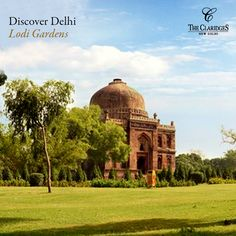 A joy for morning walkers, tucked away from the chaos of the city, Delhi's favorite picnic spot - Lodi Garden is located close to The Claridges!