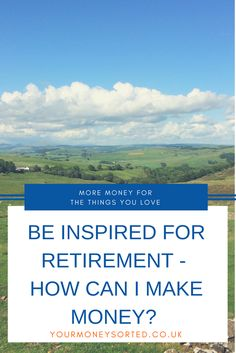 How making extra money can help you to plan for #earlyretirement