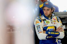 Chase Elliott, driver of the NAPA Auto Parts Chevrolet, stands in the garage area during practice for the Monster Energy NASCAR Cup Series Toyota/Save Mart 350 at Sonoma Raceway on June 2018 in Sonoma, California. Camaro Zl1, Chevrolet Camaro, Chase Elliott Nascar, Save Mart, Sonoma Raceway, Nascar Champions, Bristol Motor Speedway, Sonoma California, Monster Energy Nascar