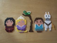 and more: Nana beads disney Felt creations . and more: Nana beads disney Disney Hama Beads Pattern, Hama Beads Disney, Pearler Bead Patterns, Perler Patterns, Pearler Beads, Fuse Beads, Hama Disney, Plastic Bead Crafts, Iron Beads