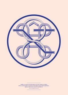 Monogram. Steven van der Wel - http://cargocollective.com/stevenvdwelnl/