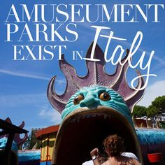 Amusement Parks Exist in Italy, Theme parks and water parks in Italy. Italy Vacation, Italy Travel, Malta Italy, Italy For Kids, Water Parks, Italy Holidays, Places In Italy, Visit Italy, Top Destinations