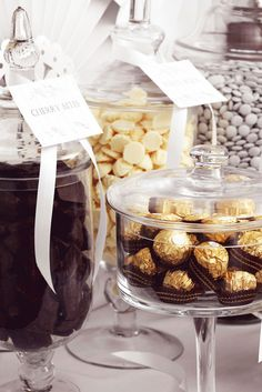 """Photo 11 of 43: Cream, Gold and Brown Chocolate buffet / Wedding """"Chocolate Wedding Buffet"""" 