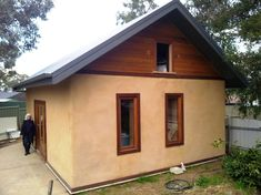 Home is a Straw Bale House – Huff 'n' Puff Strawbale ...