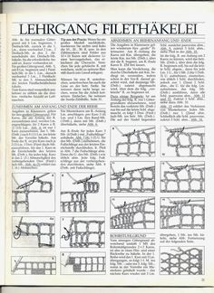 Ghasal's Kreativblog: Filethäkeln - Muster- Vorlagen