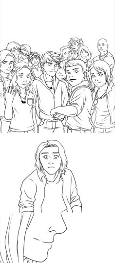 """""""Hey Magnus, You coming?"""" """"..Yeah. My turn.""""   Probably never going to finish this, but oh well. Welcome to the family, Magnus Chase."""