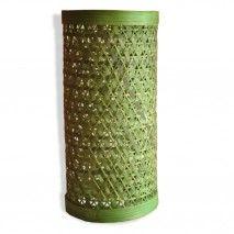 Green Bamboo lamp