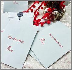 12 String and Button Season Gift Envelopes: Luxury Christmas Gift Envelopes With…