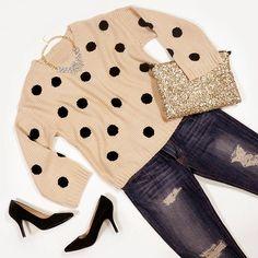 Spots + Sequins