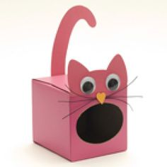 valentine's day tissue box mailbox