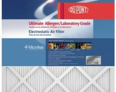 Shop for DuPont 20 x 30 ProClear Maximum Allergen Electrostatic Air Filter. Get free delivery On EVERYTHING* Overstock - Your Online Home Improvement Store! Electrostatic Air Filter, Air Filter Sizes, Air Purifier Reviews, Surface Area, Heating And Cooling, Home Depot, Cool Stuff, Amazon, Allergies
