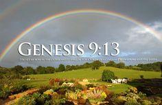 Genesis 9:13 Rainbow