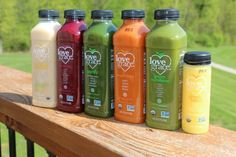 So this is happening.  The lovely folks at  @lovegracefoods  sent me samples of their certified organic, cold-pressed juices, smoothies & elixirs to try!  I'm not doing a full out juice cleanse today, but I am intent on tasting the flavors pictured above.  Making hubby taste them all too. Stay tuned for my video review next week. | #lovegracefoods #juicecleanse #nongmo #vegan #glutenfree #kosher #fitness #operationbodyback #healthyliving #nofilter