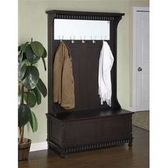 Image detail for -coat rack bench collection   Building Designs and Furniture
