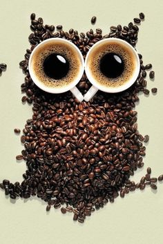 coffee owl! aww, he's hanging in my kitchen now! :)