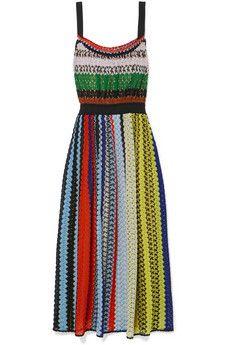 Missoni - Crochet-knit midi dress