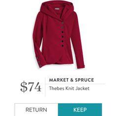 Market & Spruce - Thebes Knit Jacket