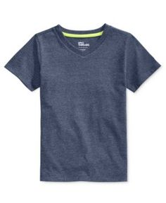 Epic Threads Little Boys' V-Neck Single Dyed T-Shirt, Only at Macy's - Blue 3
