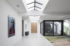 Long pitched rooflight minimalism