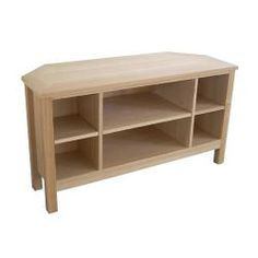 Oakrige Corner TV Stand with 6 Shelves | Overstock.com Shopping - Great Deals on Entertainment Centers