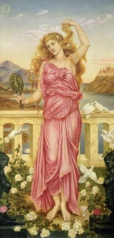 Helen of Troy, 1898, Evelyn Pickering de Morgan