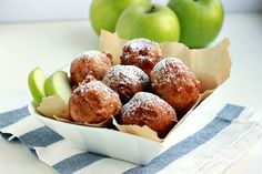 Easy recipe for Apple Fritters - the perfect fall breakfast treat!