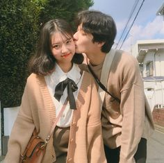 please don't remove the captions of ig posts Korean Couple Photoshoot, Japanese Couple, Cute Couple Outfits, Ulzzang Couple, Cute Couple Pictures, Cute Couples Goals, Forever, Cute Relationships, Cute Korean Girl