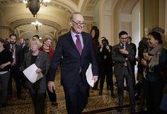 Senate Minority Leader Chuck Schumer called out President Trump on Monday for choosing Cabinet nominees that he argued undermine the populist promises to working America Trump made on the campaign trail. The president uses populist rhetoric to cover-up a hard-right agenda, Schumer said. His actions as president don