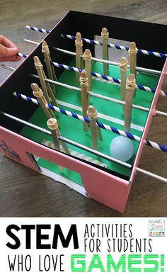 Gamer STEM Challenges! - Foosball Table Challenge