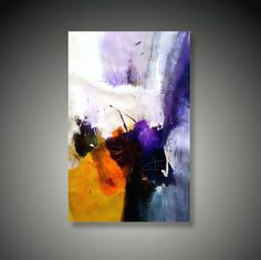 Dan Bunea living abstract paintings , - Piece of heaven, 2011,acrylics canvas,60x80cm,