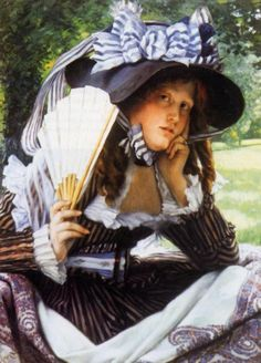James Tissot || (1836 – 1902) French painter and illustrator