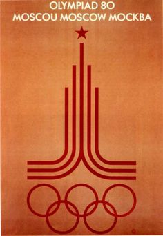 Olympic Poster - Moscow 1980