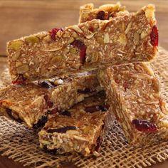 Nutty Pumpkin-Spiced Paleo Energy Bars Recipe