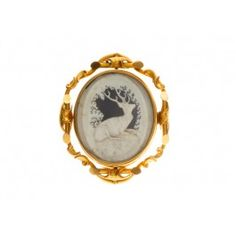 victorian carved deer pin #trumpetandhorn #victoiranring #lovethis trumpetandhorn.co...