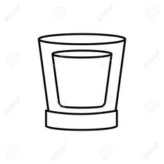Glass cup isolated icon vector illustration graphic design , #Aff, #isolated, #icon, #Glass, #cup, #graphic