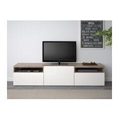 IKEA Besta TV unit x2 along media wall ($219 per unit)