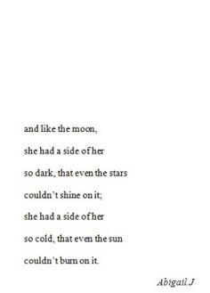 Dark but deep