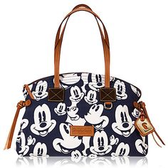 Faces of Mickey Mouse Satchel Bag by Dooney & Bourke.  <3