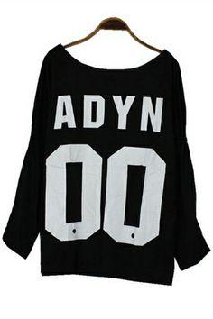 Loose ADYN OO Sweatshirt