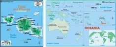 Vacation Ideas - Map of Tahiti - Epicurean Tours, Inc