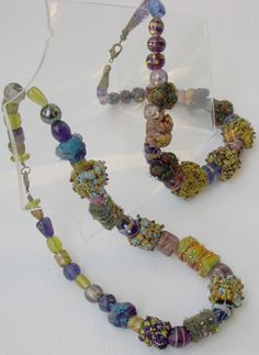 fabric beads tutorial by Patricia Brownen
