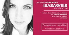 Gana un viaje para dos personas a Gijón para conocer a ISASAWEIS