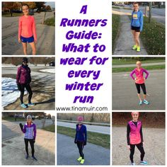 What to wear at every temperature - photos for every 5 degree difference - from Elite runner Tina Muir