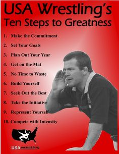 10 steps to greatness