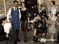 Monica Bellucci et Laeticia Casta pour Dolce & Gabbana. Les égéries Mode de la rentrée. Icones Sans Complexe! #grazia