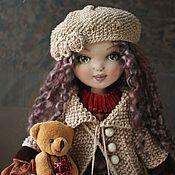 Текстильная кукла Селена. Бохо стиль. По мотивам – купить или заказать в интернет-магазине на Ярмарке Мастеров | Текстильная кукла Селена, исполнена в бохо стиле…