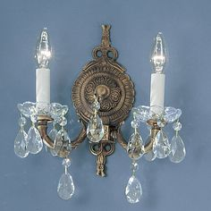 Found it at Wayfair - Madrid 2-Light Wall Sconce